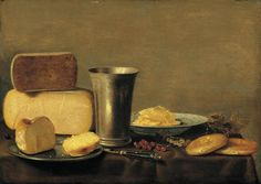 Floris Gerritsz. van SCHOOTEN - Still-Life - Oil on oak panel, 39 x 55 cm -  Private collection