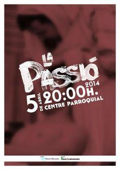 Cartel de la Passió por Som Agencia