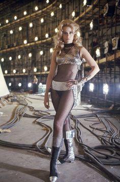 Jane Fonda as Barbarella.