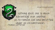 Slytherin House Quote