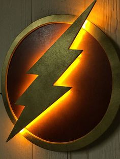 DC Comics Justice League The Flash LED Illuminated Superhero Logo Night Light Wall Art for mancave or boys bedroom - Visit to grab an amazing super hero shirt now on sale! Kids Bedroom Boys, Boy Room, Kids Room, Light Wall Art, Wall Lights, Ultimate Man Cave, Man Cave Basement, Superhero Room, Superman Room