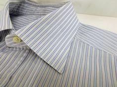 Ermenegildo Zegna Men s Dress Shirt 15.5 39cm  ErmenegildoZegna eaa594b068d