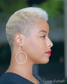 Cut by Model Found by tapered twa Short Natural Haircuts, Tapered Natural Hair, Natural Hair Styles, Tapered Twa, Short Grey Hair, Short Hair Cuts, Gray Hair, Black Hair, Twa Hairstyles