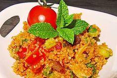 Bulgursalat Hummus Dip, Bulgur Salad, Snack Recipes, Snacks, Wonderful Recipe, Tomato Paste, 3 Ingredients, Fried Rice, Risotto
