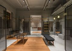 Chinese studio Neri&Hu has designed the interior of fashion brand Comme Moi's first flagship store.