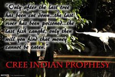 Cree Indian Prophesy