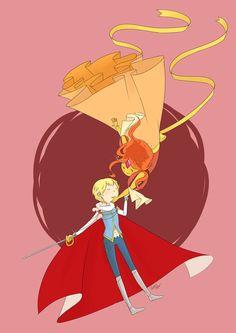 Flame Princess images Finn and Flame Princess HD wallpaper and ...