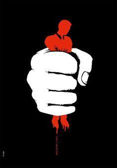 Wojciech Osuchowski -  Exploitation Creative Poster Design, Creative Posters, Logo D'art, Social Awareness Posters, Freedom Artwork, Elephant Man, Vegito Y Gogeta, Political Posters, Political Art