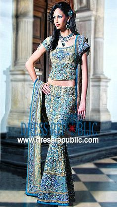 Beige Haybos, Product code: DR1198, by www.dressrepublic.com - Keywords: RCKC Bridal Dresses, RCKC London, UK, RCKC Sarees, R C K C Sarees