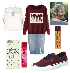 """Untitled #208"" by mikayla-burgess ❤ liked on Polyvore featuring Calvin Klein, Vans, Burt's Bees and Accessorize"