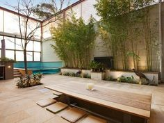 A Deck that is simple and ethereal.