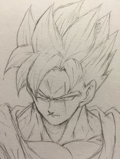 Dragonball Z/GT/Super Future Gohan SSJ This landscaping contractor will be the one to come up with t Goku Drawing, Ball Drawing, Dbz Drawings, Drawing Sketches, Tatoo Manga, Vegito Y Gogeta, Z Arts, Fan Art, Dragon Ball Gt
