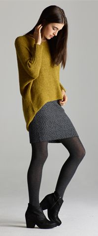 Yes.  From Eileen Fisher. The Covet List.