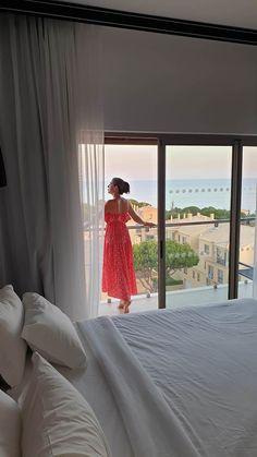Aqua Pedra dos Bicos Design Beach Hotel - Albufeira - Algarve - Portugal © Viaje Comigo Apartment Balcony Decorating, Apartment Balconies, Algarve, Portugal, Aqua, Curtains, Design, Home Decor, Fashion