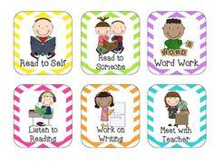 Literacy Center Cards {Freebie}