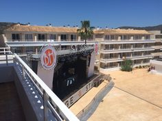 Stage at the BH Mallorca #MallorcaOTB