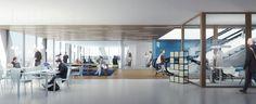 Competition Entry: JHK Architecten + Broekbakema's Proposal for Rotterdam School of Transport