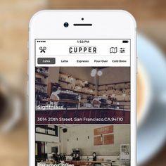 Инновационный Cupper App Добавляет Uber интеграцию для искателей Великого кофе