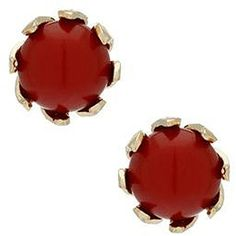 Red Claw Stud Earrings (93 RUB) ❤ liked on Polyvore featuring jewelry, earrings, accessories, women, earrings jewelry, stud earrings, talon jewelry, red stone jewelry and red jewelry