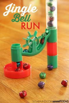 My kids love this jingle bell marble run visual tracking activity for working on fine motor skills and the sills needed for reading and writing! Preschool Christmas Activities, Preschool Activities, Preschool Winter, Preschool Learning, Winter Activities, Kindergarten Inquiry, Teaching Science, Christmas Themes, Kids Christmas