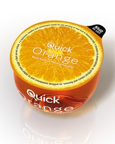 Quick Fruit on Packaging of the World - Creative Package Design Gallery Packaging World, Smart Packaging, Fruit Packaging, Food Packaging Design, Coffee Packaging, Packaging Design Inspiration, Product Packaging, Packaging Ideas, Web Design