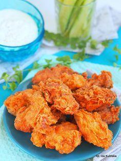 Smaczna Pyza: Hot wings. Pikantne skrzydełka a'la KFC