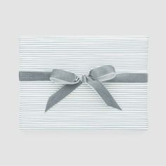 White With Blue Stripe Gift Wrap, Single Roll - Sugar Paper™ : Target