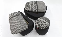Storage footstools designed for ARTEX by Ilaria Innocenti
