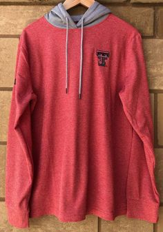 Stand out in the stands with this Texas Tech Red Raiders Mens Red Long Sleeve Milhouse Long Sleeve ! Rally House has a great selection of new and exclusive Texas Tech Red Raiders t-shirts, hats, gifts and apparel, in-store and online. Raiders T Shirt, Tech T Shirts, Texas Tech Red Raiders, Fit Team, Team Logo, Long Sleeve, Cheer, Sleeves, Athletic