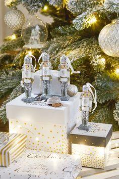 Cheval Style B Paillettes Décoration de Noël 10 couleurs choix.