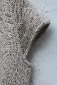 I like the finish the i-cord bind-off gives to the sleeves