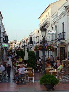 Calle de la Plaza  Cartaya