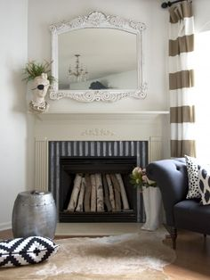 chakboard fireplace