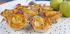 Vamos a preparar para merendar estos ricos pasteles de manzana con pan de molde. Son rapidisimos de preparar y quedan deliciosos. Snack Recipes, Snacks, Garlic, Chips, Vegetables, Food, No Sugar Desserts, Pastries Recipes, Appetizers