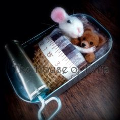 #needlefeltmice #houseoffelts #malachaibeesley #cute #mice