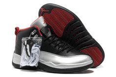 new arrival 54e12 57760 Cheap Discount Nike Air Jordan 12   Johnny Kilroy   Silver And Black And  Red Sneaker Online Store Store