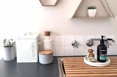 New Free kmart decor Tips I'm sure there exists a new malady that psychiatrists should begin treating. Laundry Decor, Laundry Storage, Laundry Hacks, Laundry Design, Laundry Rooms, Kmart Bathroom, Bathroom Mirrors, Bathrooms, Kmart Home