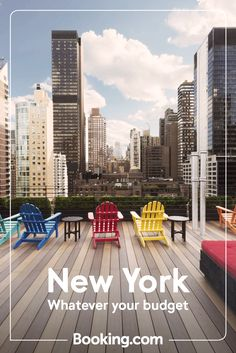 Whatever you love about New York – architecture or art galleries, shopping or cocktails – start spreading the news: we have a hotel to suit your wal New York Architecture, New York Hotels, Outdoor Chairs, Outdoor Decor, City That Never Sleeps, Travel Articles, Vacation Trips, Sun Lounger, Galleries