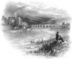 "In honor of St. Patrick's Day, nineteenth-century illustrations of the Irish countryside from ""Ireland: Picturesque and Romantic."" Pictured: Killaloe on the Shannon."