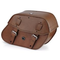 Shop Triumph Rocket III Roadster Viking Odin Brown Large Motorcycle Saddlebags from Vikingbags. Your one stop shop for top motorcycle luggage and accessories.