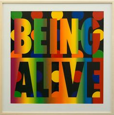 Being Alive | From a unique collection of more prints at https://www.1stdibs.com/art/prints-works-on-paper/more-prints-works-on-paper/