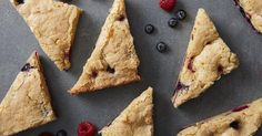 Berries added to bar cookies make for a colorfully festive cookie for all sorts of patriotic holidays.