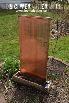 A Complete How To On Making This Outdoor Water Feature From  Www.jparisdesigns.