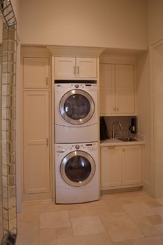 Best 20 Laundry Room Makeovers - Organization and Home Decor Laundry room decor Small laundry room organization Laundry closet ideas Laundry room storage Stackable washer dryer laundry room Small laundry room makeover A Budget Sink Load Clothes Laundry Dryer, Laundry Closet, Laundry Room Organization, Basement Laundry, Storage Organization, Laundry Storage, Small Laundry Rooms, Laundry Room Design, Laundry In Bathroom