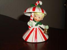 vintage napco christmas figurine