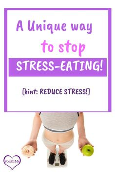 the easiest way to eliminate stress-eating? reduce the stress! Simplify your life so you have less stress then you have less need to stress-eat How To Stop Stress, Stress Less, Reduce Stress, How To Relieve Stress, Stress Eating, Stop Overeating, Ate Too Much, Body Confidence, Feeling Down