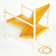 Laura Carwardine's Loom chair. See it in person at the Prototype exhibit at #IDS13.