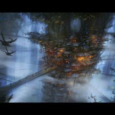 The Forest Village by Mark Molnar
