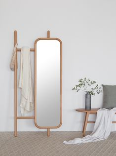 hanger and mirror on Behance Home Room Design, House Design, Home Decor Furniture, Furniture Design, Boho Home, Aesthetic Room Decor, Furniture Inspiration, New Room, House Rooms