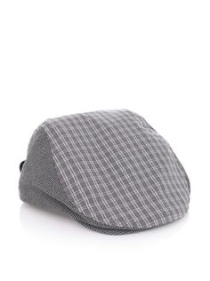Ted Baker Men's Halah Twin Needle Flat Cap (Light Grey)